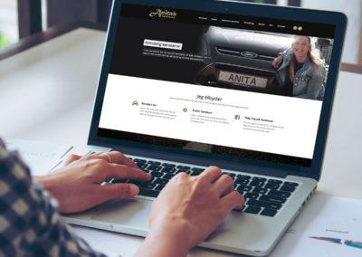 Anitas Køreskole - website