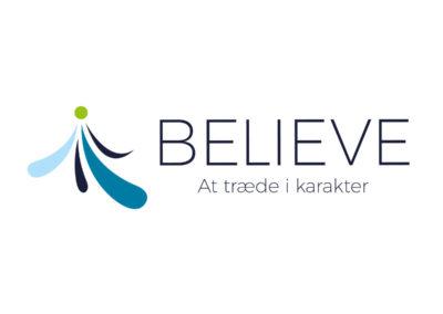 Psykologselskabet Toftemosegaard - BELIEVE logo