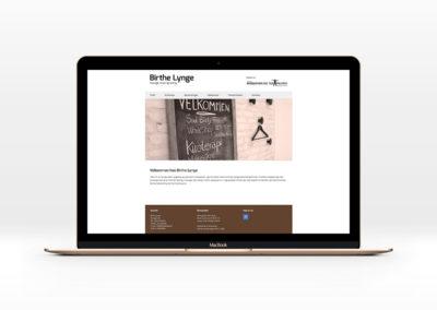 Birthe Lynge - logo samt website
