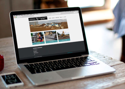 Entreprenørmaskiner - website