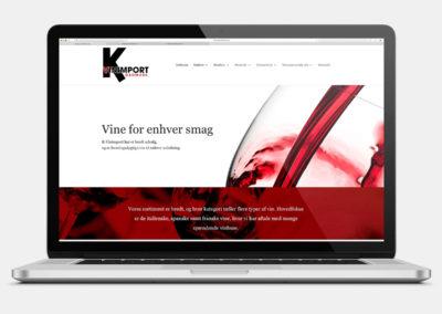 K-Vinimport - website