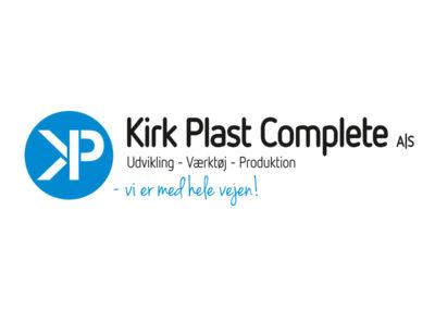 Kirk Plast - nyt logo
