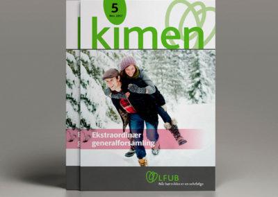 Landsforeningen for Ufrivilligt Barnløse - medlemsmagasin KIMEN