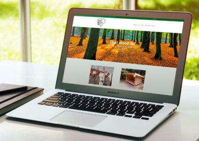 That Wood Do - logo, website, grafisk leverandør