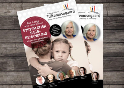 Psykologselskabet Toftemosegaard - grafisk leverandør